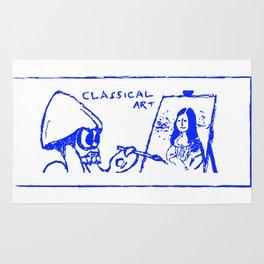 Classical art (Splatoon) Rug