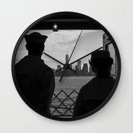Memorial Day NYC Wall Clock