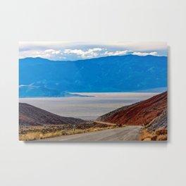 Titus Canyon. Death Valley National Park. California. USA Metal Print