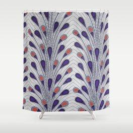 Kaliedescope African Ankara Delight Shower Curtain