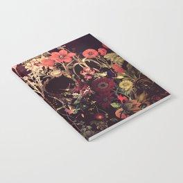 Bloom Skull Notebook