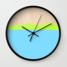 Sorbet VII Wall Clock