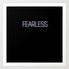 Fearless | Digital Art Art Print