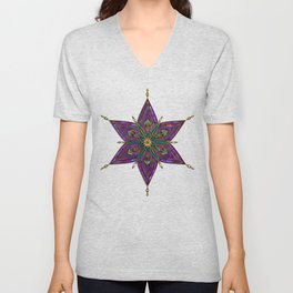 Crest of Kali Unisex V-Neck