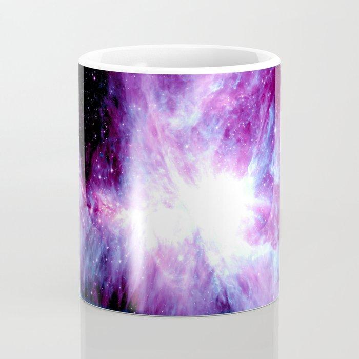Orion Nebula Purple Periwinkle Blue Galaxy Coffee Mug