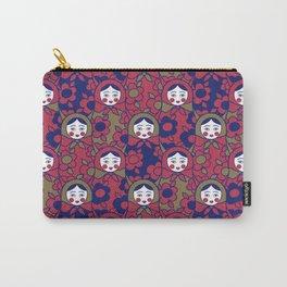 russian matrioshka pattern Carry-All Pouch