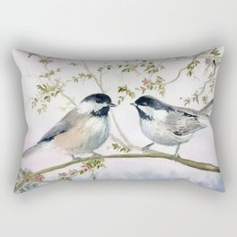 Chickadee Rectangular Pillow