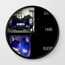1956 Lotus Eleven  Wall Clock