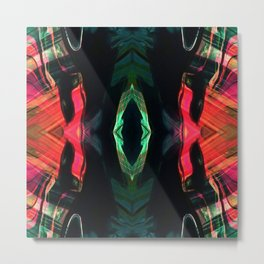 ABSTRACT PAINTING II-B KALEIDOSCOPE Metal Print