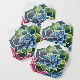 Succulents & Crystals Coaster