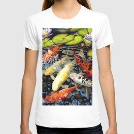 Koi & Waterlilies T-shirt