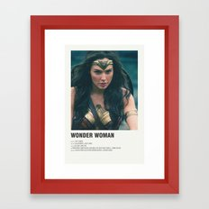 Diana Framed Art Print