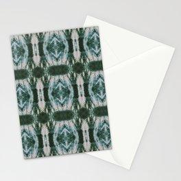 Green Shibori Hedges Stationery Cards