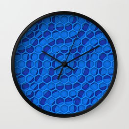 Pattern Over Pattern Wall Clock