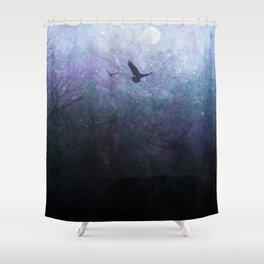 Flight of the Ravens Shower Curtain