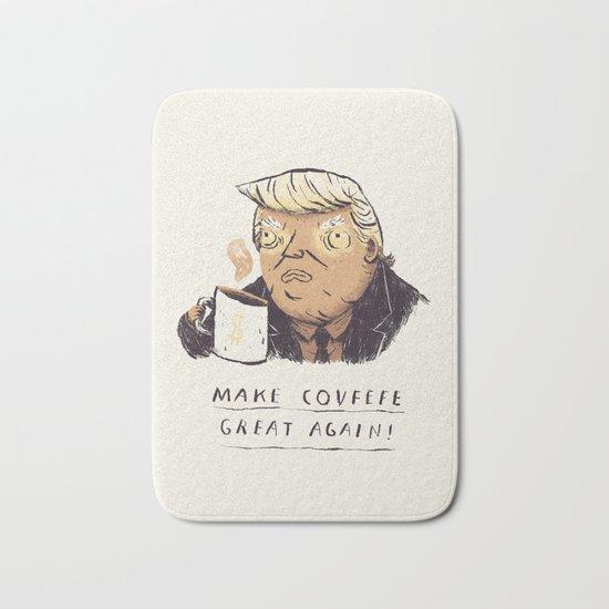 make covfefe great again! trump print Bath Mat