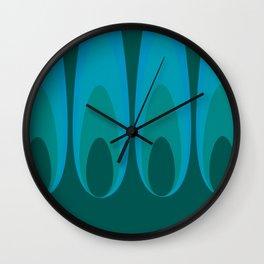Hot Flashes Wall Clock