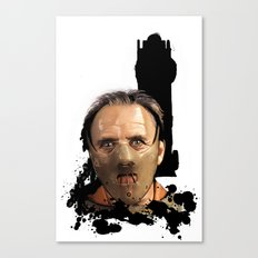 Hannibal Lecter: Monster Madness Series Canvas Print