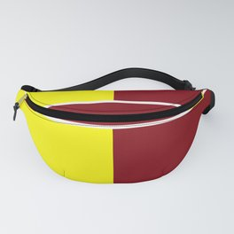 Team Colors 6....Maroon,yellow Fanny Pack