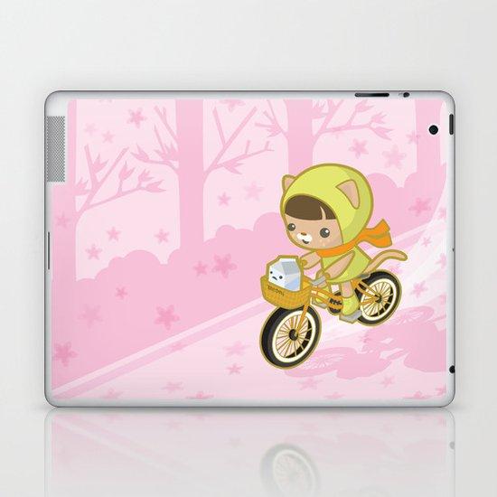 Blossom Ride Laptop & iPad Skin