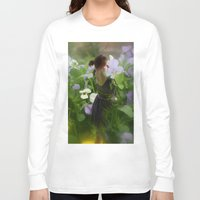 fairies Long Sleeve T-shirts featuring Flower Fairies by BryonyEloise