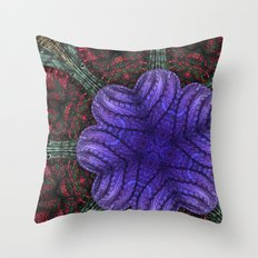 Psychedelic Botanical 2 Throw Pillow