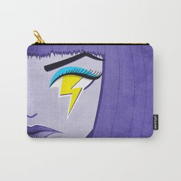 Lightning Eye Girl Silent Rage Carry-All Pouch