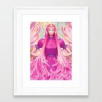 artgerm Framed Art Prints featuring PB by Artgerm™