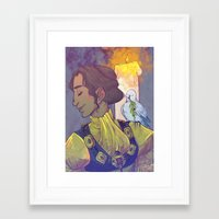 dragon age inquisition Framed Art Prints featuring Josephine Montilyet - Dragon Age Inquisition by Allen Lim