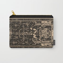 Sala Tumba de Pakal Carry-All Pouch