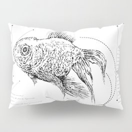 Geometry of a Goldfish Pillow Sham
