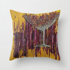 :: Afternoon Wine :: Throw Pillow