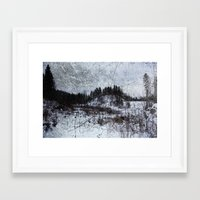 norway Framed Art Prints featuring Norway by Tora Wolff