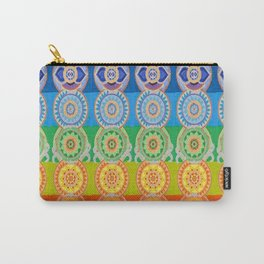 SEVEN CHAKRA SYMBOLS OF HEALING ART Carry-All Pouch