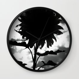 Nightflower Wall Clock
