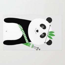 Be brave - panda Rug