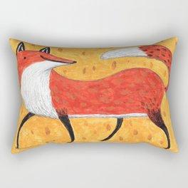 Sassy Little Fox Rectangular Pillow