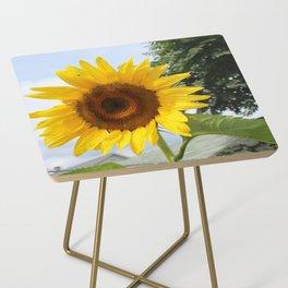 une seule fleur Side Table