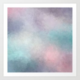 Dreaming in Pastels Art Print