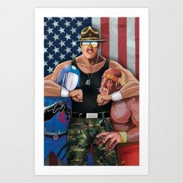 Sarge Rules Art Print
