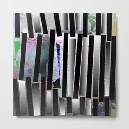 Continuum light Metal Print