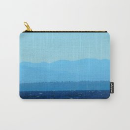 Blue on blue Carry-All Pouch