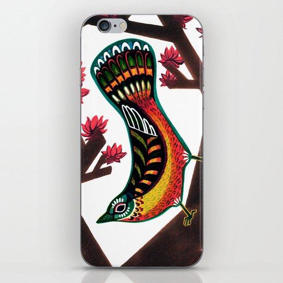 Woodpecker iPhone & iPod Skin