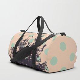 Birds and pine tree Duffle Bag