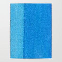 Blue Ocean Up Close Poster