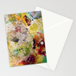 Collage Stationery Cards