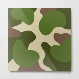 Camouflage Pattern (Camo) Metal Print