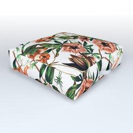 White garden Outdoor Floor Cushion