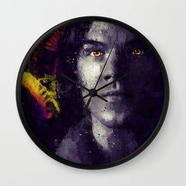 Crown of Horns Wall Clock