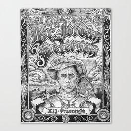 Dr. Jordan B. Peterson - XII Praecepta Canvas Print